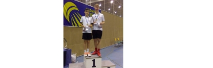 Success for Joe in Finnish Open - Gold Medal in the Boys Doubles - October 2018