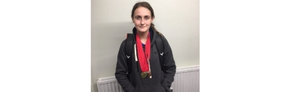 BE U15 Berkshire Silver - Saturday 3rd November 2018 - Triple medals for Megan
